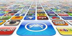 Lancé en juillet 2008, l'App Store (magasin d'applications d'Apple) a enregistré 170 milliards de téléchargements entre juillet 2010 et décembre 2017.