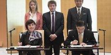 Carole Delga avait effectué sa première visite à l'étranger en tant que Présidente de Région au Japon, en 2016.