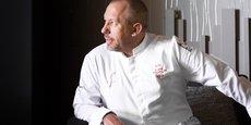 Franck Putelat, chef doublement étoilé (restaurant le Parc à Carcassonne) qui signe la carte du nouvel établissement nîmois.