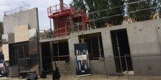 Le programme Palais Galien Fondaudège - Marie Brizard Héritage comprend notamment une petite centaine de logements, en cours de construction.