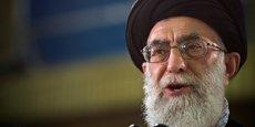 L'ayatollah Ali Khamenei, guide suprême de la révolution iranienne.
