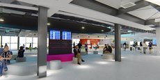 Le futur nouveau terminal de l'aéroport de Montpellier.