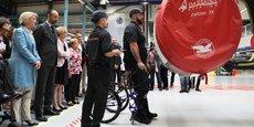 Le gouvernement est aussi revenu depuis l'usine Safran de Colomiers sur les nouvelles obligations qu'il compte mettre en oeuvre pour favoriser l'emploi des personnes handicapées.