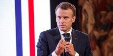 Le président Macron engage la réforme des retraités.