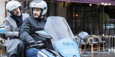 Felix et CityBird veulent populariser leur offre de taxi-scooter encore un marché de niche.