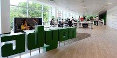 La jeune entreprise d'Amsterdam a réalisé la plus grosse introduction technologique en Europe depuis cinq ans.