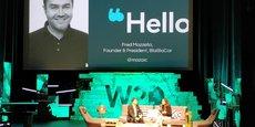 Mercredi, Fred Mazzella (Blablacar) sur le plateau du Web2Day 2018