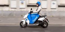500 scooters électriques Cityscoot vont être déployés à l'automne.