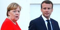 Hier mardi 19 juin à Meseberg en Allemagne, la chancelière allemande Angela Merkel et le président de la république française Emmanuel Macron attendent le président de la Commission européenne, Jean-Claude Juncker, avant de se retrouver pour le Conseil des ministres franco-allemand chargé notamment de préparer le sommet du 28 juin.