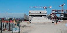 Le chantier du nouveau parc des expositions de Toulouse, au nord de la ville, est actuellement le plus gros chantier public en France.
