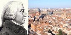 Adam Smith a séjourné pendant plusieurs mois à Toulouse.