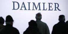 Le groupe Daimler annonce que son bénéfice opérationnel sera légèrement inférieur à celui enregistré en 2017.
