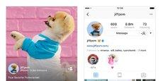 L'application de partage de photos Instagram, propriété de Facebook, revendique 1 milliard d'utilisateurs.