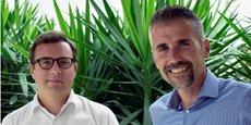 Le 1e juillet 2018, Didier Robert (à gauche) succèdera à Stéphane Marcel (à droite) au poste de directeur général de SMAG