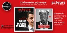Magazine Acteurs de l'économie-La Tribune N°141 en kiosques