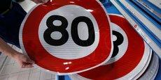 La vitesse maximale autorisée sur les routes secondaires passe à 80 km/h ce 1er juillet