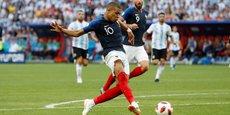 Kylian Mbappé a marqué deux buts sur les quatre qui ont permis à la France de l'emporter face à l'Argentine.