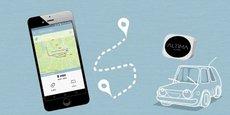Un petit boîtier connecté en Bluetooth au smartphone du conducteur permet de détecter le trajet et de calculer tarif à la minute. Cette offre répond à une vraie demande de nos sociétaires, notamment pour le deuxième ou troisième véhicule du foyer, qui sort peu du garage a expliqué la Maif.