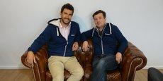 Arthur Saint-Père et Guillaume Heintz, co-fondateurs de la startup française Dolead.
