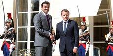 L'émir du Qatar, le Cheikh Tamim al-Thani, a déjà rencontré le 15 septembre 2017 le président français Emmanuel Macron.