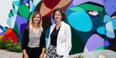 Audrey Oranger et Sandrine Larrouy-Castera, les deux cofondatrices de l'entreprise Com&Visit.