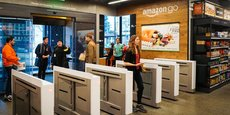 Selon Bloomberg, le géant américain envisageait d'ouvrir jusqu'à 3.000 magasins sans caisse Amazon Go d'ici 2021