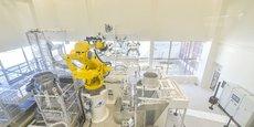La B-Line d'ArianeGroup au Haillan : une ligne de production ultra automatisée.