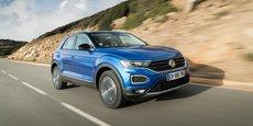 Le T-Roc de Volkswagen a participé à la dynamique de la marque allemande dont les ventes ont fortement augmenté au premier semestre.