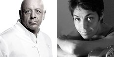 Thierry Marx et Mathilde de l'Ecotais, créateurs de Media Social Food
