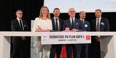 Le plan Ader IV a été signé jeudi 19 juillet, un an après sa présentation.