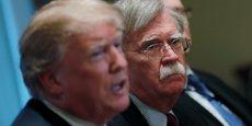 Pressé de donner des détails sur la façon dont ces pays tenteraient d'influencer les élections américaines, John Bolton, conseiller du président américain à la sécurité nationale, est resté vague.