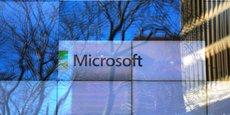 Microsoft a enregistré jeudi un chiffre d'affaires annuel de 110,36 milliards de dollars (+14% sur un an).