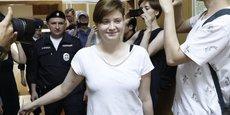 RUSSIE: SANCTIONS CONTRE LES AGENTS PRÉSENTS LORS DE L'INTRUSION DES PUSSY RIOT