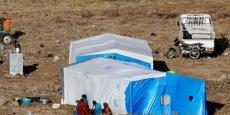 L'ONU RÉCLAME UN CORRIDOR DE SÉCURITÉ POUR 140.000 RÉFUGIÉS SYRIENS