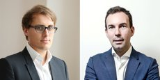 Antoine Marck, cofondateur de Blue et Matthieu Viennet, président de Livinx.