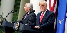 À en croire Donald Trump, « une nouvelle phase » commence dans la relation entre l'Europe et l'Amérique après l'accord qu'il a noué avec son homologue européen Jean-Claude Juncker.