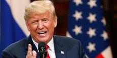 Après avoir été critiqué il y a deux semaines pour son attitude conciliante envers Vladimir Poutine lors de leur sommet à Helsinki, Donald Trump change catégoriquement de ton.