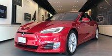 Modèle Tesla en exposition