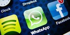 Créée en 2009, l'application de messagerie WhatsApp a été achetée il y a quatre ans par Facebook pour 22 milliards de dollars.