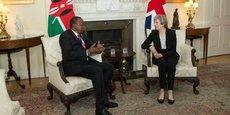 Au Kenya interviendra le 30 août 2018 la première visite de Theresa May en Afrique mais sa quatrième rencontre avec le président Uhuru Kenyatta depuis leur première rencontre le 11 mai 2017 à Londres.