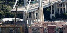 GÊNES: LE GOUVERNEMENT ITALIEN OUVRE UNE ENQUÊTE CONTRE AUTOSTRADE PER L'ITALIA