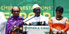 L'opposant Soumaila Cissé qui se déclare vainqueur a déjà contesté les résultats du premier tour de la présidentielle