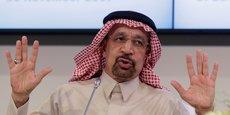 Le ministre saoudien de l'Énergie Khaled al-Faleh a démenti ce jeudi 23 aoûtdans un communiqué le gel de l'introduction en Bourse de la compagnie pétrolière nationale Saoudi Aramco. (Photo : le ministre, lors d'une réunion de l'Opep, en novembre 2017).