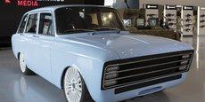 Avec ses allures de voiture soviétique, la CV-1 a l'ambition de rivaliser avec... Tesla !