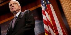 Le sénateur républicain John McCain avait 81 ans
