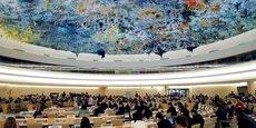 Le siège du comité des droits de l'homme à Genève.