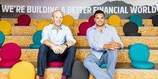 Les cofondateurs de Funding Circle, James Meekings, responsable du Royaume-Uni, et Samir Desai, le directeur général.