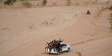 Selon les données de l'UE, près de 90% des migrants d'Afrique de l'ouest traversent le Niger sur leur parcours vers la Libye et l'Europe.