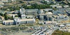 La nouvelle unité de production de Sanofi s'étend sur 5 000 m2 au sein de son site montpelliérain
