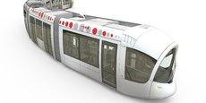 Citadis : design provisoire des futures rames du Sytral